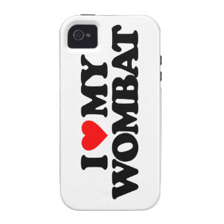 AMO MI WOMBAT VIBE iPhone 4 CARCASA