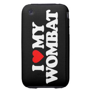 AMO MI WOMBAT iPhone 3 TOUGH PROTECTORES