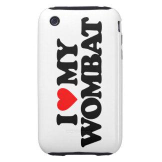 AMO MI WOMBAT TOUGH iPhone 3 FUNDA