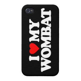 AMO MI WOMBAT iPhone 4 COBERTURAS