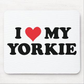 Amo mi Yorkie Tapete De Ratón
