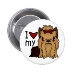 Amo mi Yorkie, Yorkshire Terrier Pins