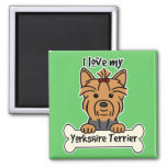 Amo mi Yorkshire Terrier Iman