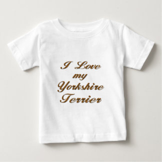 Amo mi Yorkshire Terrier Poleras