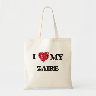 Amo mi Zaire Bolsa Tela Barata