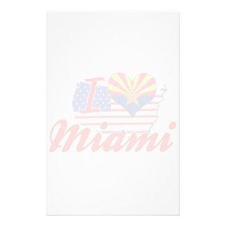 Amo Miami Arizona Papeleria Personalizada