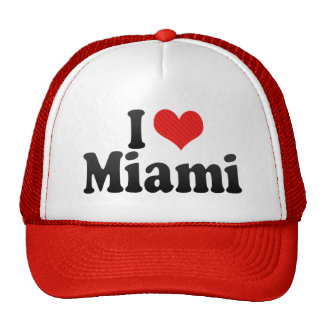 Amo Miami Gorros