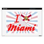 Amo Miami, la Florida 38,1cm Portátil Calcomanías
