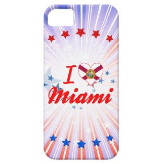 Amo Miami la Florida iPhone 5 Cárcasas
