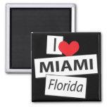 Amo Miami la Florida Imán Para Frigorifico