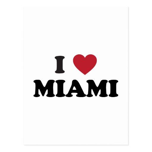Amo Miami la Florida Postal