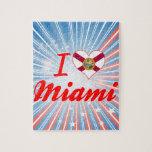Amo Miami, la Florida Puzzle Con Fotos