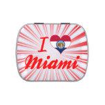 Amo Miami, Missouri Jarrones De Caramelos