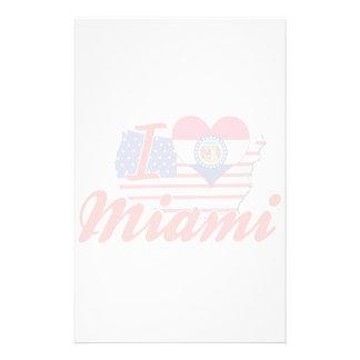 Amo Miami Missouri Papeleria Personalizada