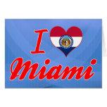 Amo Miami, Missouri Tarjetón