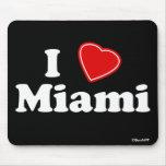 Amo Miami Tapete De Ratón