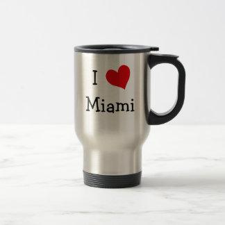 Amo Miami Taza Térmica