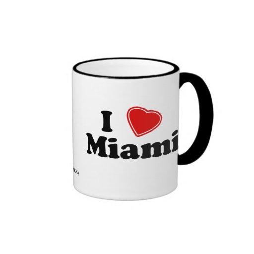 Amo Miami Tazas