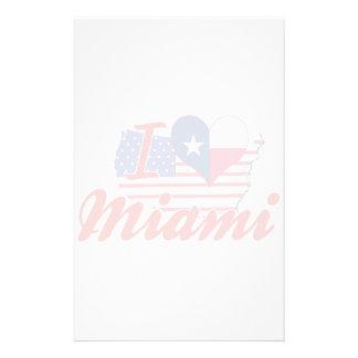 Amo Miami Tejas Papelería