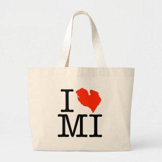 ¡Amo Michigan Bolsas De Mano