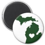 Amo Michigan Iman De Frigorífico