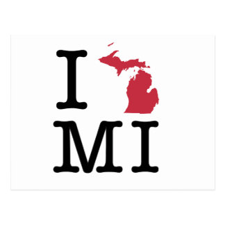 Amo Michigan Postales
