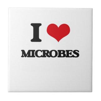 Amo microbios tejas  cerámicas