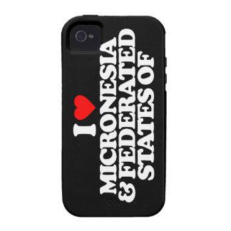 AMO MICRONESIA Y ESTADOS FEDERADOS DE Case-Mate iPhone 4 CARCASA