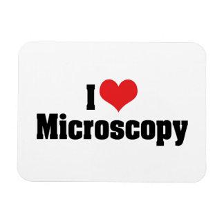 Amo microscopia del corazón imanes
