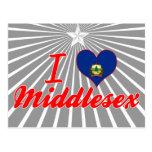 Amo Middlesex, Vermont Tarjetas Postales