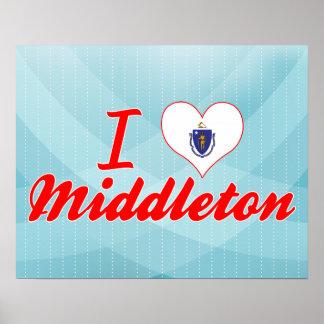 Amo Middleton, Massachusetts Poster