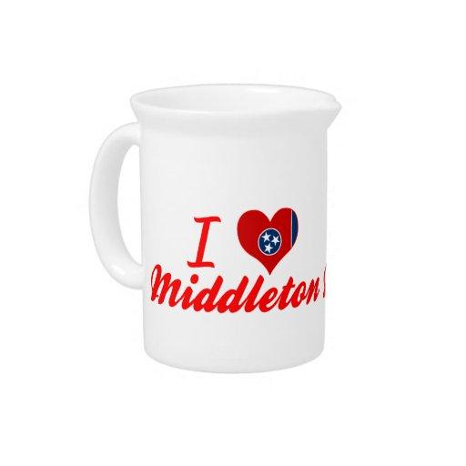 Amo Middleton, Tennessee Jarras Para Bebida