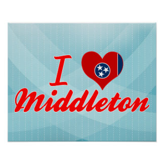 Amo Middleton, Tennessee Poster
