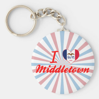 Amo Middletown Iowa Llaveros Personalizados