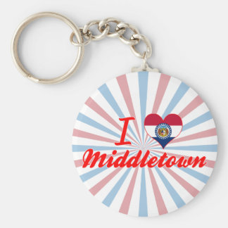 Amo Middletown Missouri Llavero Personalizado