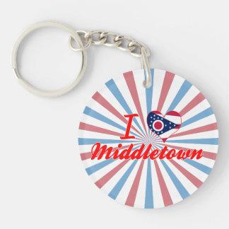 Amo Middletown Ohio Llaveros