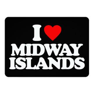 AMO MIDWAY ISLANDS INVITACIÓN 12,7 X 17,8 CM