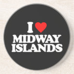 AMO MIDWAY ISLANDS POSAVASOS PARA BEBIDAS