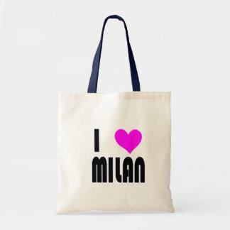 Amo Milano Bolsa Tela Barata