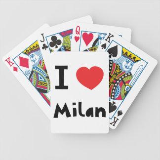 Amo Milano Cartas De Juego