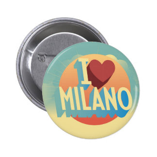 Amo Milano Pin Redondo De 2 Pulgadas