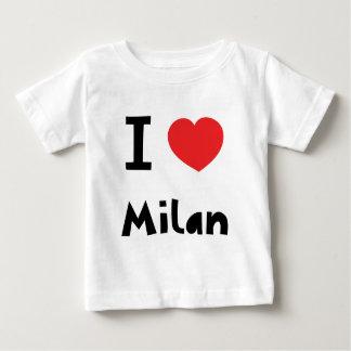 Amo Milano Playera De Bebé