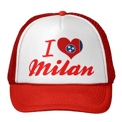 Amo Milano, Tennessee Gorras De Camionero