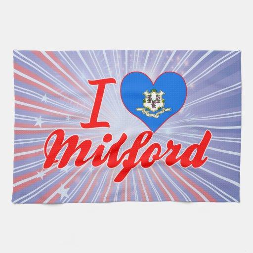 Amo Milford, Connecticut Toallas De Cocina