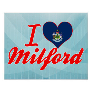 Amo Milford Maine Poster