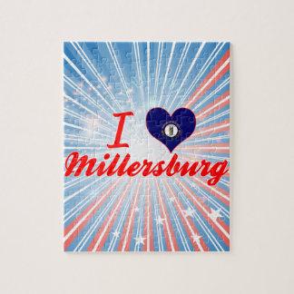 Amo Millersburg, Kentucky Rompecabeza Con Fotos