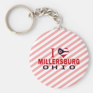 Amo Millersburg, Ohio Llavero Personalizado