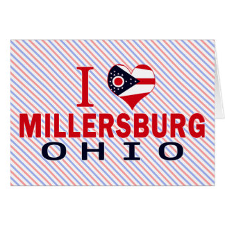 Amo Millersburg, Ohio Felicitaciones