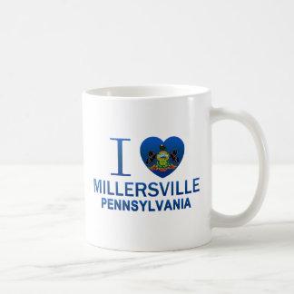 Amo Millersville, PA Taza Básica Blanca