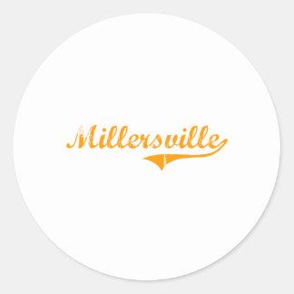Amo Millersville Tennessee Pegatina Redonda